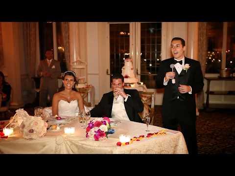 Hilarious funny best man speech at wedding