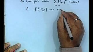 Mod-01 Lec-38 Convergence Of Sequence Of Operators And Functionals