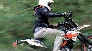 9. 2014 KTM 690 Enduro R offroad on mountain trails