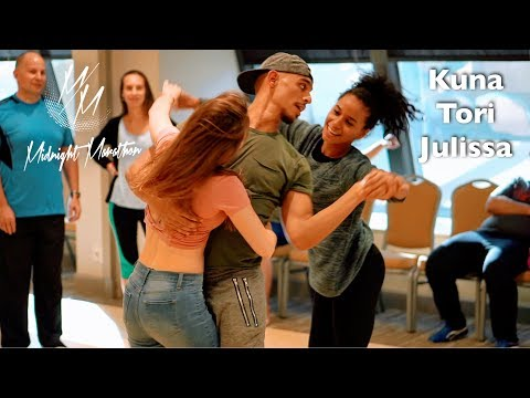 Download Kuna Malik Hamad & Tori Dawn & Julissa | Brazilian Zouk Dance at Midnight Marathon 2018 MP3
