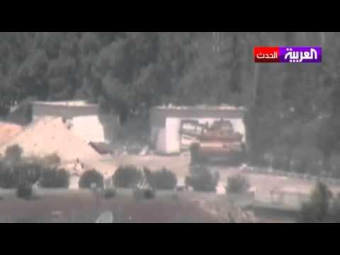 الجيش الحر يهاجم مطار تفتناز العسكري في إدلب