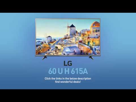 LG 60UH615A 4K UHD Smart LED TV - 60