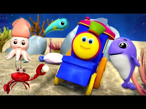 Wonderful World Of The Sea | Bob The Train | Kids Rhymes & Songs | Videos For Children