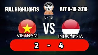 Video Full Highlights Vietnam VS Indonesia AFF U-16 Championship 2018 Sidoarjo Indonesia MP3, 3GP, MP4, WEBM, AVI, FLV Mei 2019