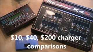Video Lipo Charger Comparison, $10, $40, $200, DC-4S, X-Charger, & X4 AC Plus MP3, 3GP, MP4, WEBM, AVI, FLV September 2019