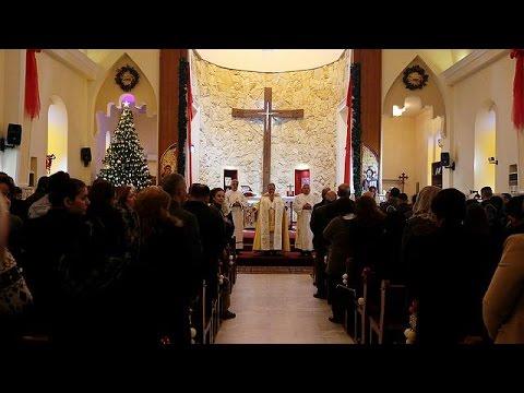 Ιράκ: Οι πιστοί γιορτάζουν τα Χριστούγεννα