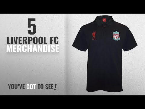 Top 10 Liverpool Fc Merchandise [2018]: Liverpool FC Official Football Gift Mens Crest Polo Shirt
