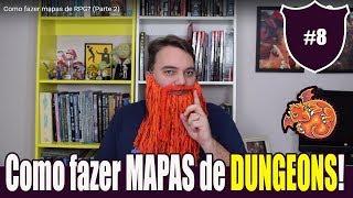 Continuando nossa série de dicas para mestres de RPG. Hoje vamos falar novamente sobre mapas, mas dessa vez, o foco são os mapas de dungeons, labirintos, castelos e cavernas. Usamos o aplicativo ANA Map, do site deepnight.net.
