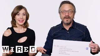 Video Alison Brie & Marc Maron Answer the Web's Most Searched Questions | WIRED MP3, 3GP, MP4, WEBM, AVI, FLV September 2018