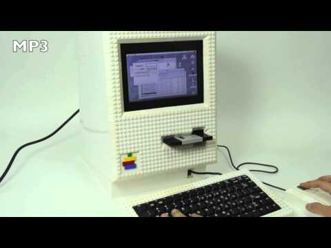 Real LEGO Macintosh