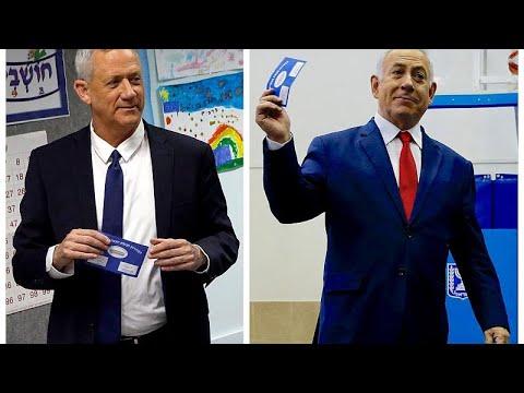 Ισραήλ – εκλογές: Δηλώνουν νικητές και ο Νετανιάχου και ο Γκαντζ…