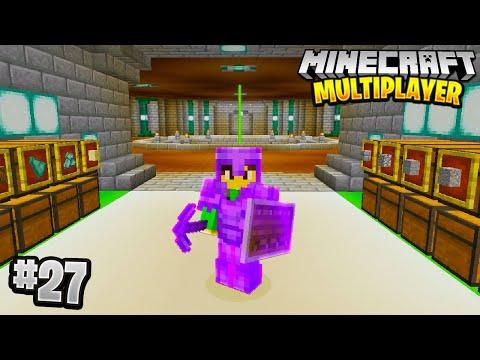 THE MEGA BASE in Minecraft Multiplayer Survival! (Episode 27)