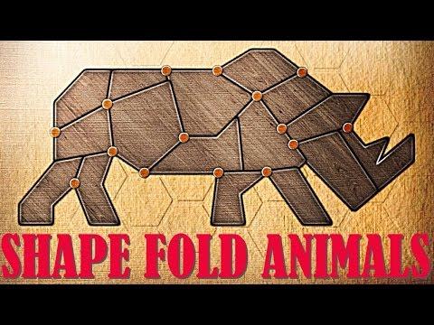 Shape Fold Animals Origami