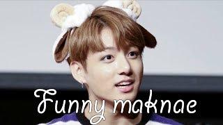 Video Jungkook making his hyungs laugh MP3, 3GP, MP4, WEBM, AVI, FLV April 2019