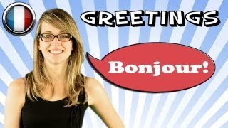 French Course With Mathilde, Lesson 1 - Greetings