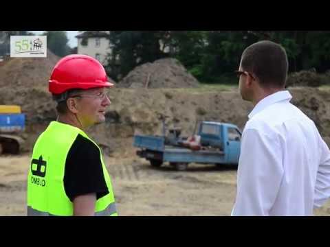 Pierwsza łopata pod budowę nowych mieszkań wbita