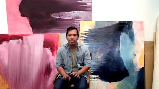CB Creative Agency Testimonial: Dodie Sy, Abstract Oil Painter.
