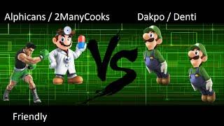 Alphicans / 2ManyCooks vs Dakpo / Denti