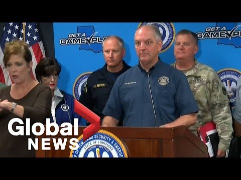 Louisiana Government Officials Share Updates On Barry