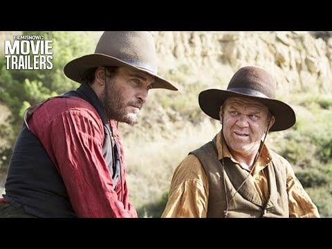 THE SISTERS BROTHERS Trailer NEW (2018) - Joaquin Phoenix, John C. Reilly Comedy Western