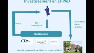 Argent : pourquoi investir dans un ehpad ?