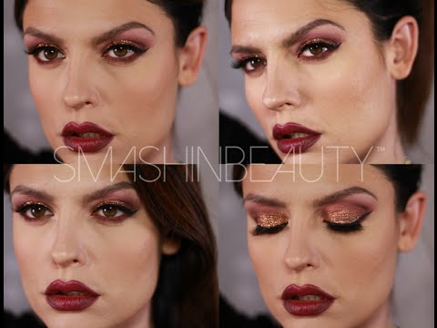 Glitter Makeup - Holiday Makeup Tutorial