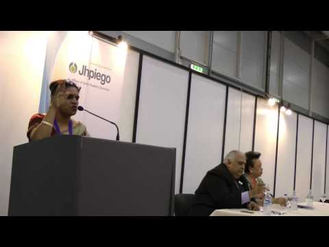 Dr. Hema Divakar at FIGO 2012