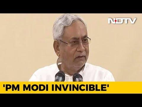 Nobody Strong Enough To Take On PM Modi In 2019, Says Nitish Kumar