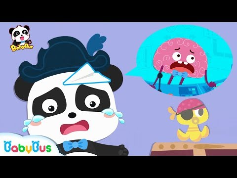 Watch out! Captain Kiki | Learn Body Parts | Number Song | Learn Colors | BabyBus (видео)