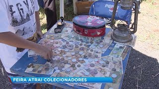 Feira da Barganha reúne apaixonados por antiguidades em Bauru