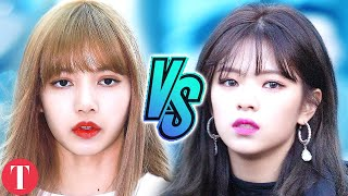 Video BLACKPINK Vs. TWICE: Which One Do You Stan MP3, 3GP, MP4, WEBM, AVI, FLV September 2019