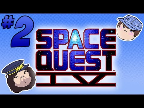 Space Quest IV: Point and Click - PART 2 - Steam Train