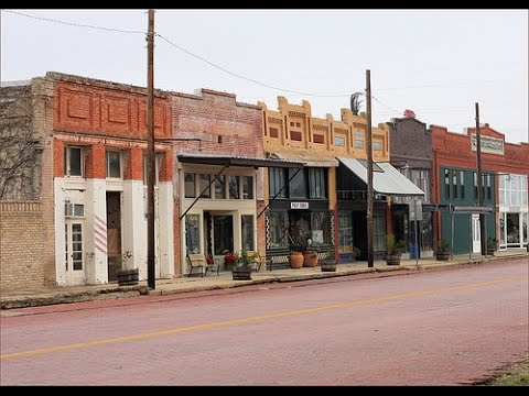 ABANDONED GHOST TOWN - Bartlett Texas