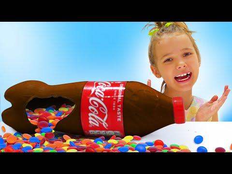 Katy y bebidas en chocolate