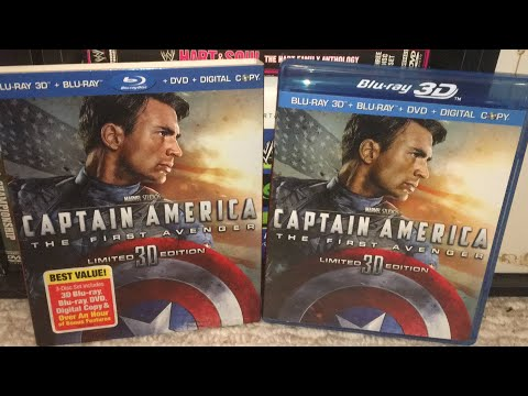 Captain America: The First Avenger (2011) Blu-Ray Review