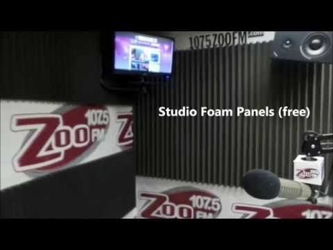 Radio DJ Tips: Turn A Radio Studio into a YouTube Soundstage for Less Than $120