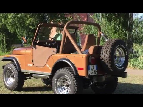 Preview video Restauro Jeep CJ-5 V8 Renegade