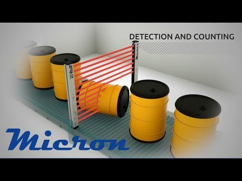Micron (Measurement Light Curtains)
