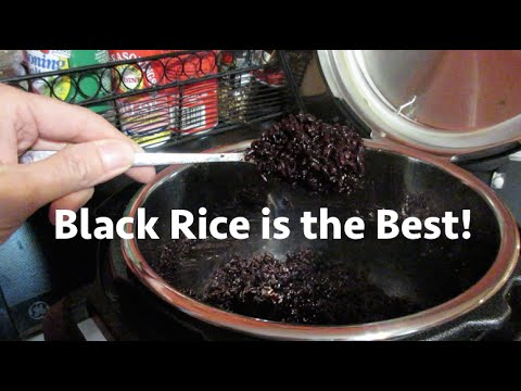 Black Rice Is The Best!