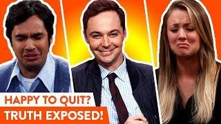 Video The Big Bang Theory Cast: Real Reactions To Show Ending   ⭐OSSA MP3, 3GP, MP4, WEBM, AVI, FLV Januari 2019