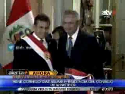 Tuteve.tv / Rene Cornejo juramenta como nuevo premier