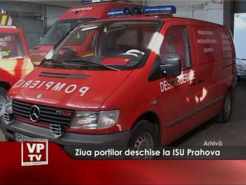 Ziua porţilor deschise la ISU Prahova