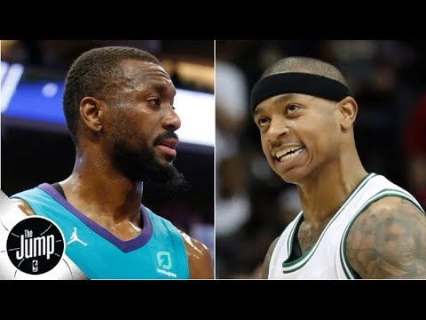 Video: Isaiah Thomas is proof that Kemba Walker might be even better this year - Tim MacMahon | The Jump