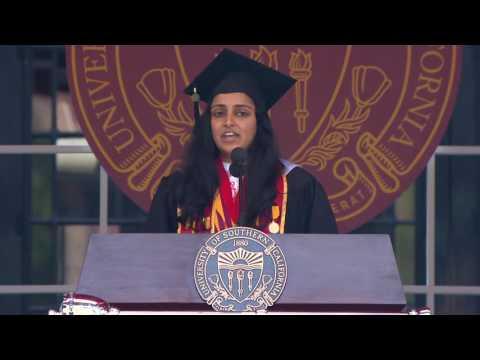 Sulekha Ramayya USC Valedictorian Speech | USC Commencement 2016