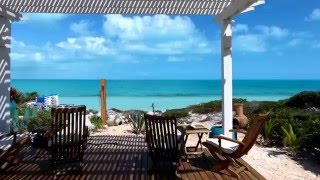 Drone Video - Aramesh Luxury beach Villa - For rent, Long Bay, Turks and Caicos