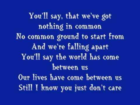 Breakfast At Tiffany's- Deep Blue Something (with lyrics)