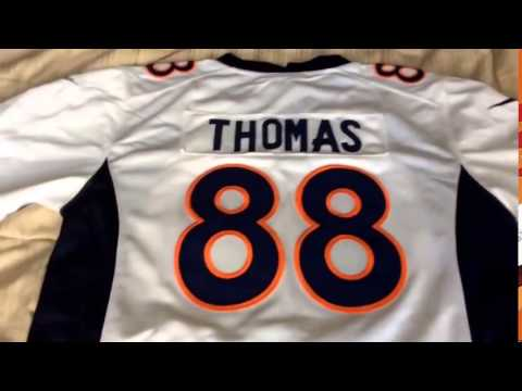 Mary Jersey Patrick Peterson, Demaryius Thomas, Von Miller jersey review
