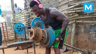 Video REAL GYM - African Bodybuilders | Muscle Madness MP3, 3GP, MP4, WEBM, AVI, FLV Maret 2018