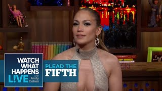 Jennifer Lopez On Texting During Mariah Carey's Performance | Plead the Fifth | WWHL