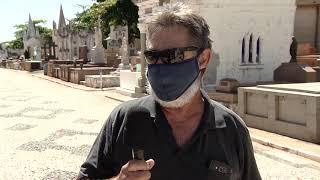 Finados: orientação é que moradores antecipem as visitas por causa da pandemia